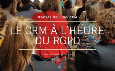 Le CRM à l'heure du RGPD