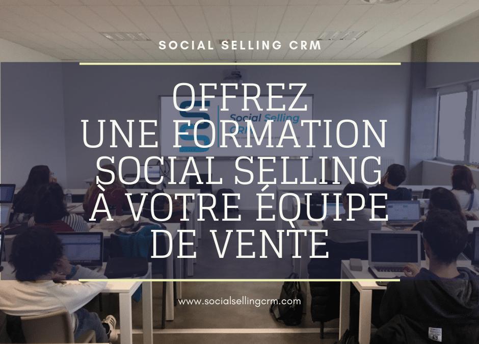 Formation social selling à votre équipe de vente