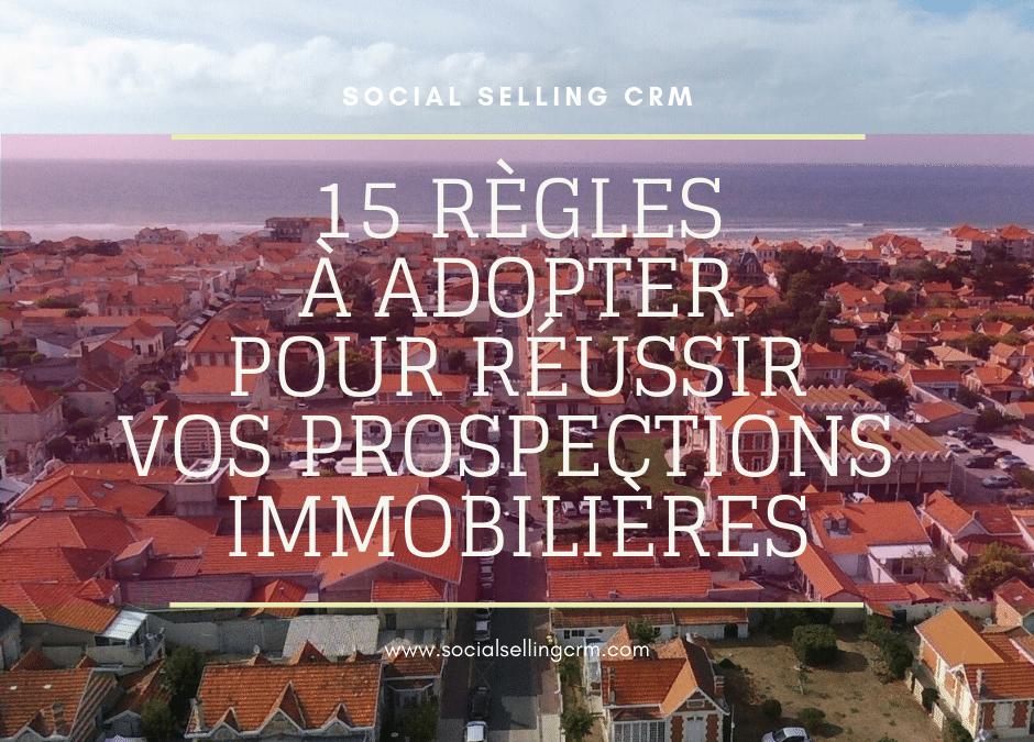 Prospection immobilière avec le Social Selling