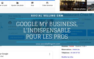 Google My Business, l'outil indispensable pour les pros