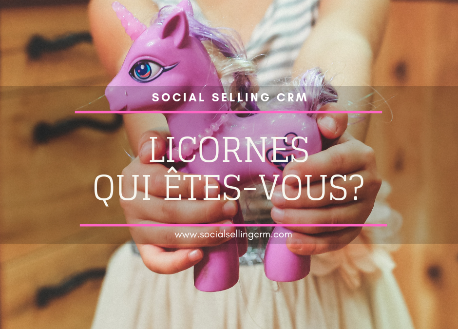 Licornes qui êtes-vous?