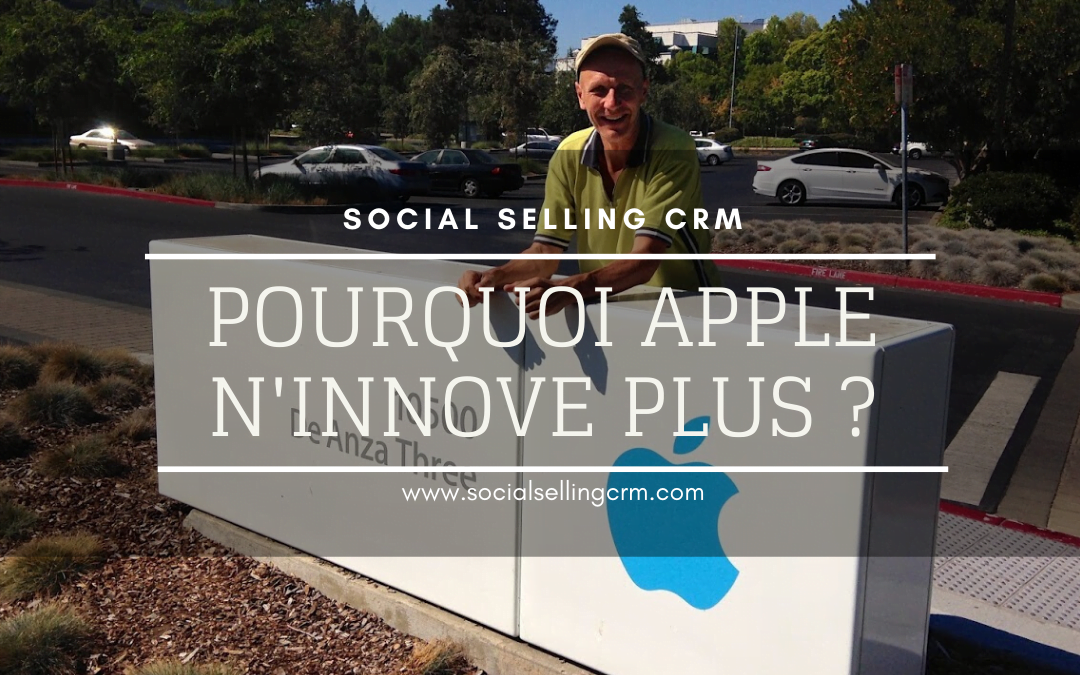 Pourquoi Apple n'innove plus?
