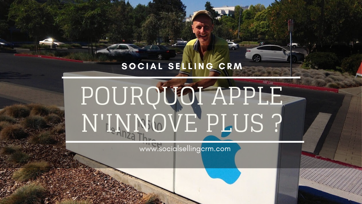 Pourquoi Apple n'innove plus en 2020?