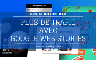Plus de trafic avec Google Web Stories