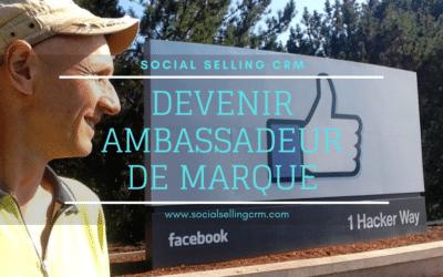 Devenir ambassadeur de marque