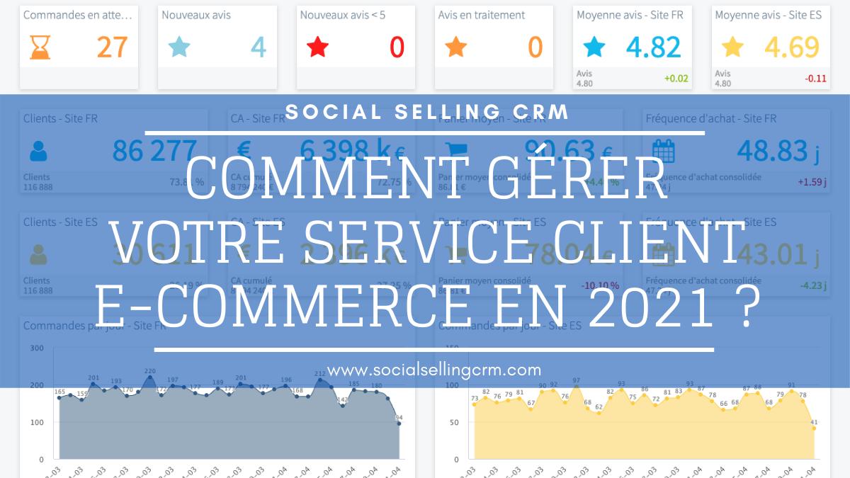 Comment gérer votre service client e-commerce en 2021 ?