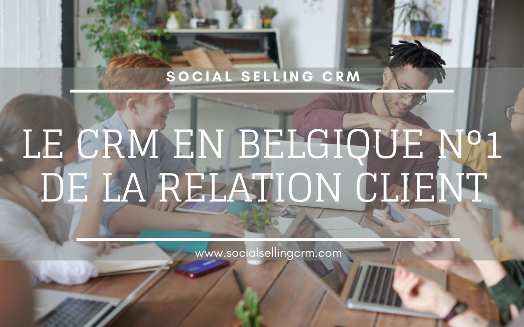 CRM en Belgique